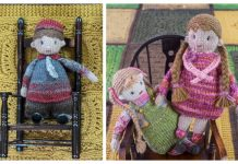 Amigurumi Little Kiddle Doll Free Knitting Patterns