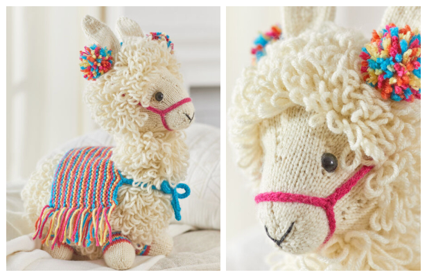 Red Heart Llama-No-Drama | Yarnspirations | Crochet animal ... | 400x616