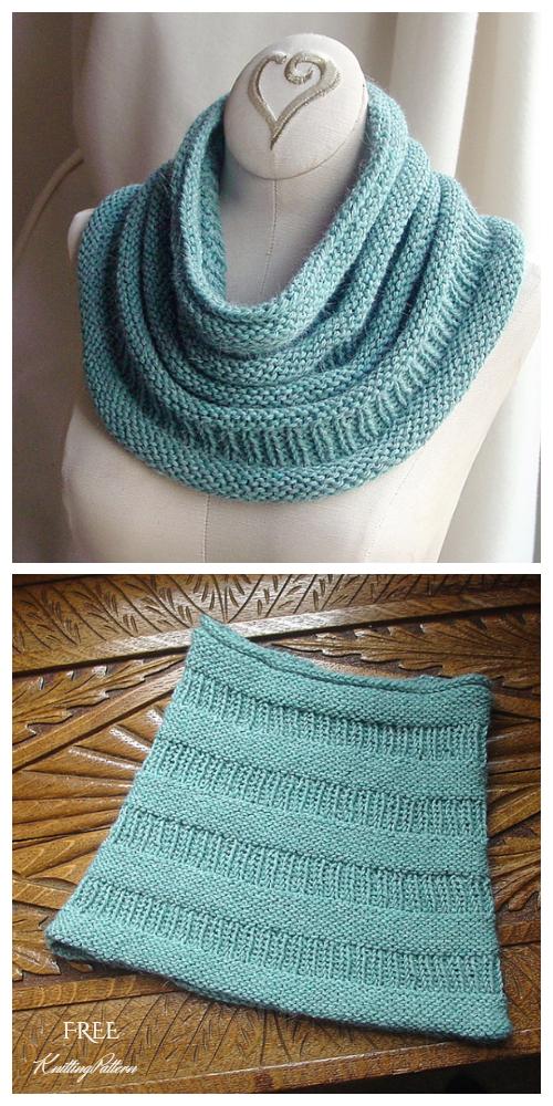Copycat Cowl Free Knitting Pattern