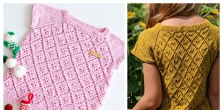 Kids Westwind Tee Top Free Knitting Pattern