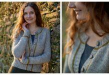 Easy Knit Adult Cardigan Free Knitting Pattern