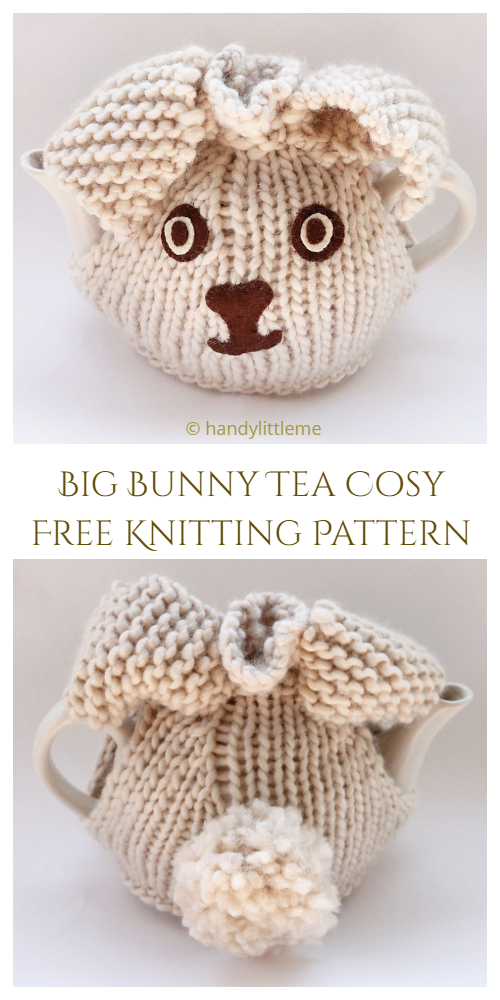 Big Bunny Tea Cosy Free Knitting Patterns