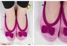 Knit Eve Slippers Free Knitting Pattern