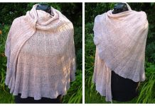 Knit Seashell Shawl Free Knitting Pattern