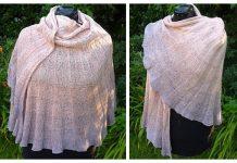 Knit Seashell Shawl Free Knitting Pattern