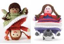Amigurumi Topsy-Turvy Doll Free Knitting Patterns