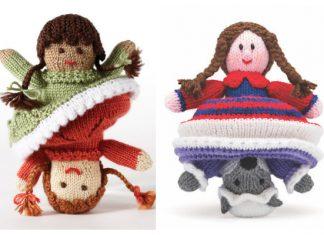 Amigurumi Topsy-Turvy Doll Free Knitting Patterns