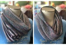 Knit Mix Stitch Versa Cowl Free Knitting Pattern