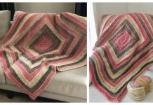 Ten Stitch Blanket Free Knitting Pattern