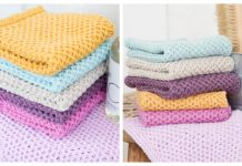 Knit Waffle Washcloth Free Knitting Patterns