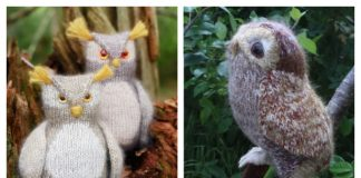 Amigurumi Owl Free Knitting Patterns