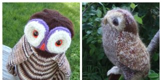 Amigurumi Owl Free Knitting Patterns
