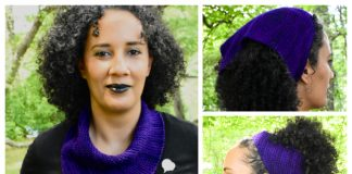 emPower People Bandana Cowl Free Knitting Pattern