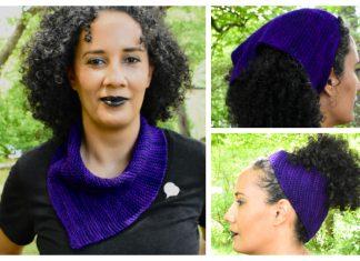 emPower People Bandana Cowl Free Knitting Pattern