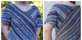 DIY Garter Stitch Top Free Knitting Pattern