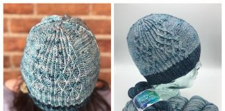 Flight Plan Cable Hat Free Knitting Pattern