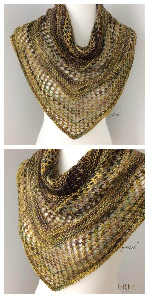 Reyna Shawl Free Knitting Pattern