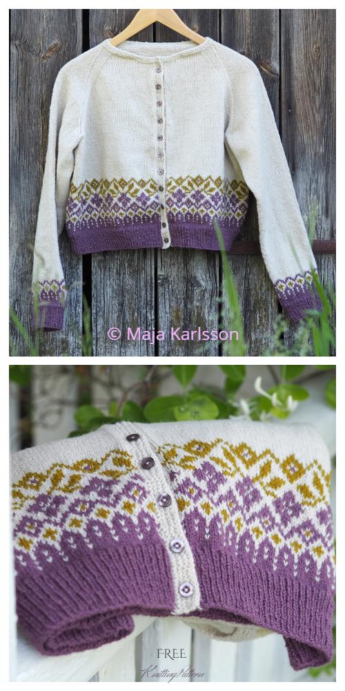 Summer Cardigan Free Knitting Pattern