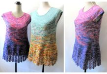 Swingy Tee Top Free Knitting Pattern