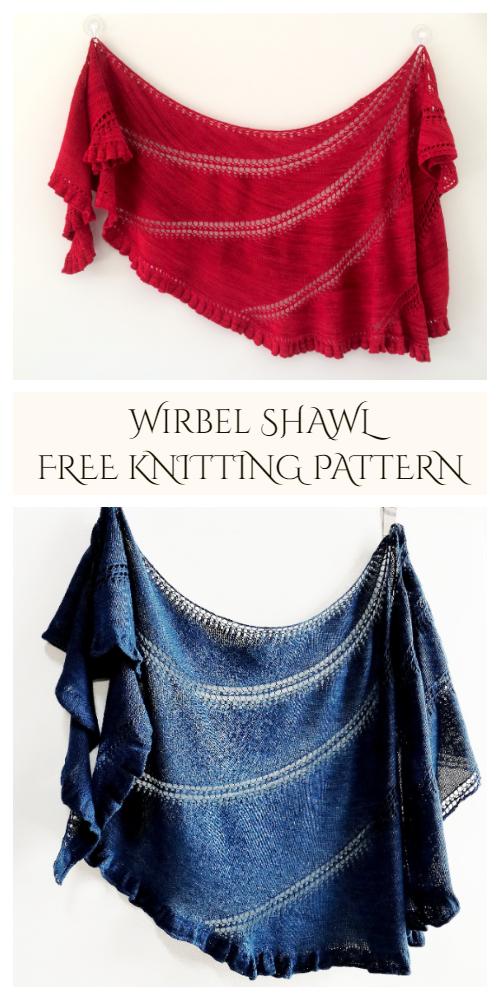 Wirbel Lace Shawl Free Knitting Pattern