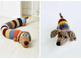Amigurumi Sausage Dog Free Knitting Patterns