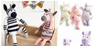 Amigurumi Zebra Free Knitting Pattern