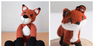 Amigurumi Little Fox Free Knitting Patterns