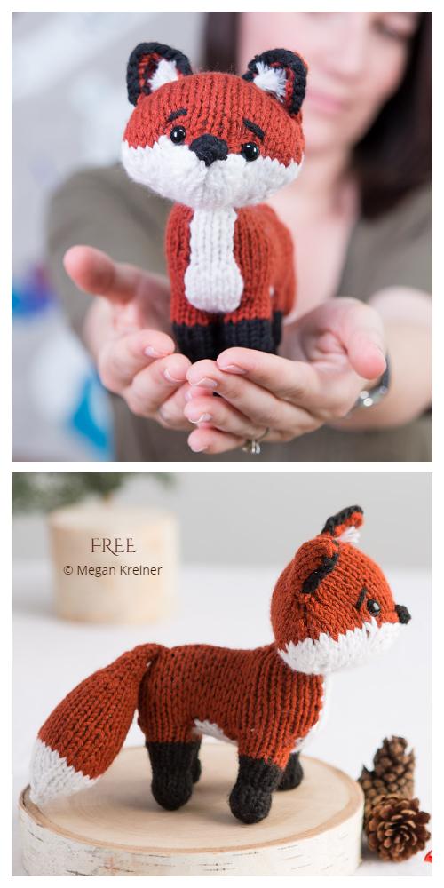 Amigurumi Little Fox Free Knitting Patterns