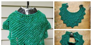 Knit Dragon Fire Cowl Free Knitting Pattern