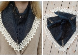Eyelet Spring Shawl Free Knitting Patterns