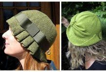 Fabulous Cloche Hat Free Knitting Patterns