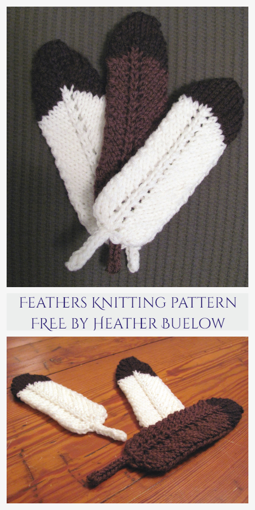 Feather Applique Free Knitting Patterns