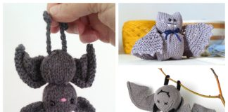 Amigurumi Halloween Bat Knitting Patterns
