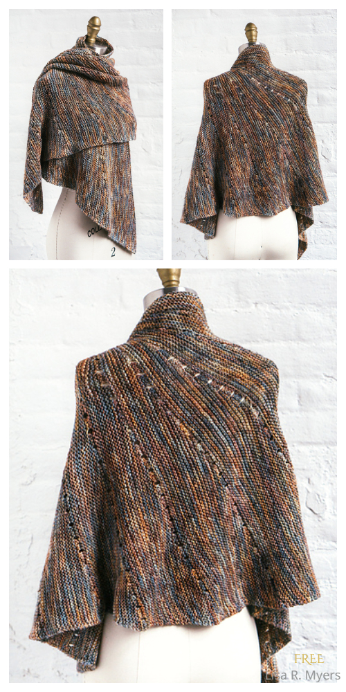 Nautilo Shawl Free Knitting Patterns