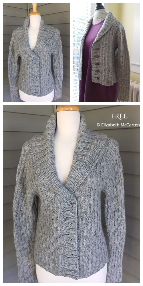 Willingdon Cardigan Free Knitting Pattern