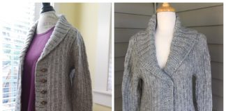 Willingdon Cardigan Free Knitting Pattern