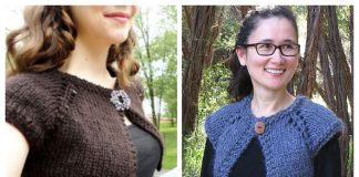 Women Bolero Cardi Free Knitting Patterns