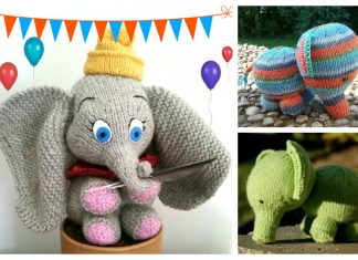 Amigurumi Baby Elephant Free Knitting Patterns