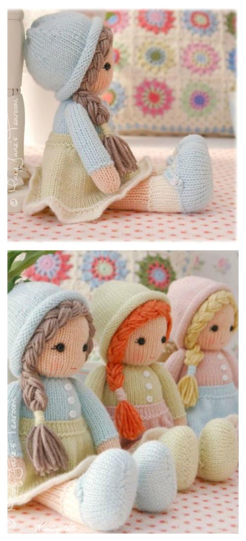 Amigurumi Little Yarn Dolls Knitting Patterns
