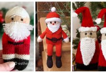Amigurumi Santa Free Knitting Patterns