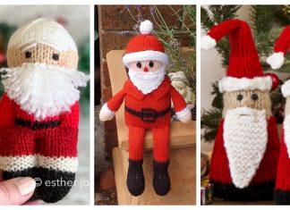 Amigurumi Santa Free Knitting Patterns