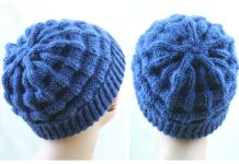 Belt Welt Hat Free Knitting Pattern