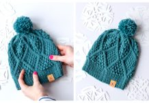 Knit Unisex January Hat Free Knitting Pattern