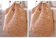 Knit Easy Bag Free Knitting Pattern