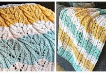 Mistral Blanket Free Knitting Pattern