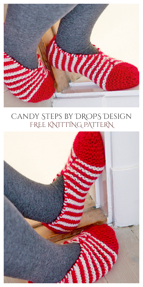 Christmas Candy Steps Free Knitting Patterns