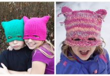 Zsa Mask Hat Combo Free Knitting Patterns