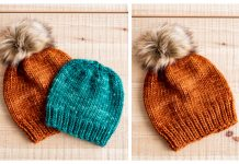 Super Bulky Hat Free Knitting Pattern