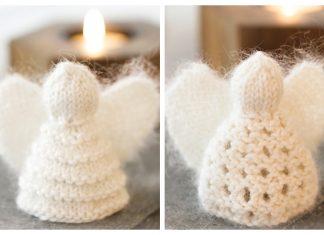 Christmas Angel Ornament Free Knitting Patterns