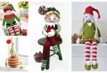 Amigurumi Christmas Elf Free Knitting Patterns